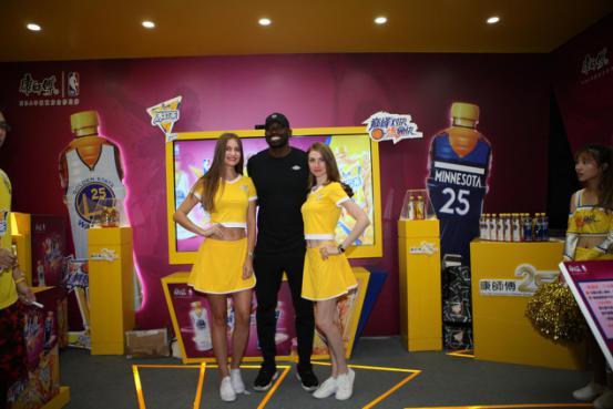 """有篮球也有冰红茶!NBA联手康师傅打造最""""燃""""运动长假"""